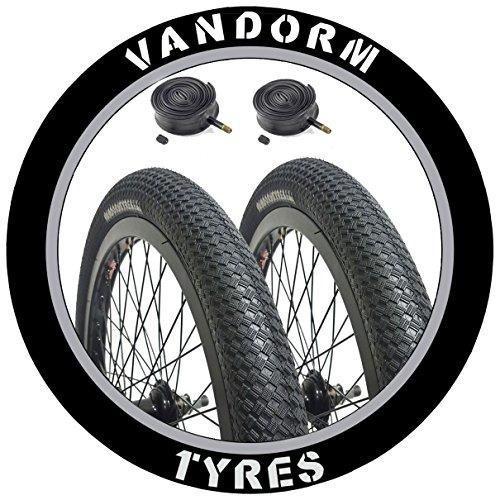 Vandorm Paar Drifter R2R 50,8x 5,1cm BMX Reifen und Röhren
