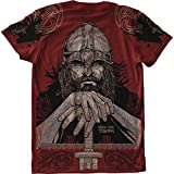 T-Shirt Hardcore Training Viking 3.0-s MMA BJJ Fitness Grappling Camiseta