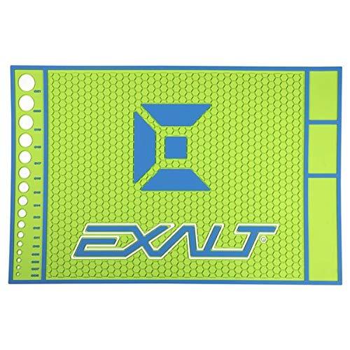 Exalt HD Rubber Techmats, Farbe:Blue/Lime