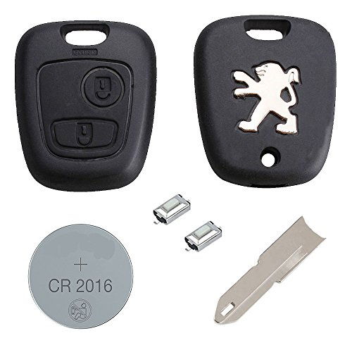 peugeot-diy-repair-kit-replacement-2-button-remote-car-key-fob-case-with-logo-ne73-blade-battery-and