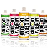 Big Zone Mineral Liquid Mineralgetränk Erfrischungsgetränk Sportgetränk (1000ml) (Cola-Limette)