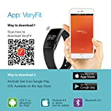 Mpow Smart Bracelet Heart Rate Monitor Fitness Tracker Activity Tracker Bluetooth Pedometer with Sleep Monitor Smartwatch for Android and iOS Smartphones