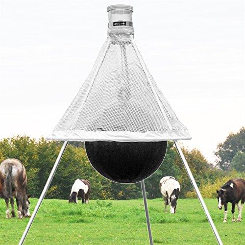 """VOSS.farming """"Delta-Trap Mobile Bremsenfalle für Ruhe auf der Pferdeweide"""