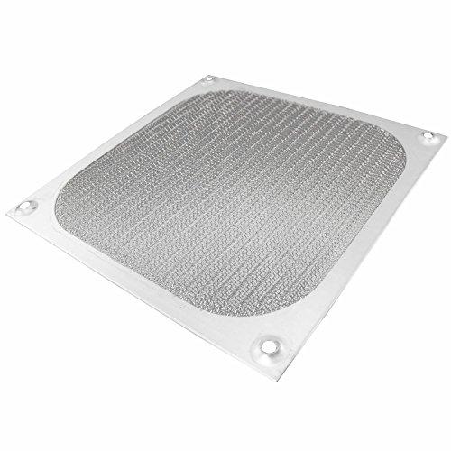 120mm Aluminium Lüfter Filter (AAB Cooling Aluminium Lüfter Filter/Grill Lüfterabdeckung (120mm, Silber))