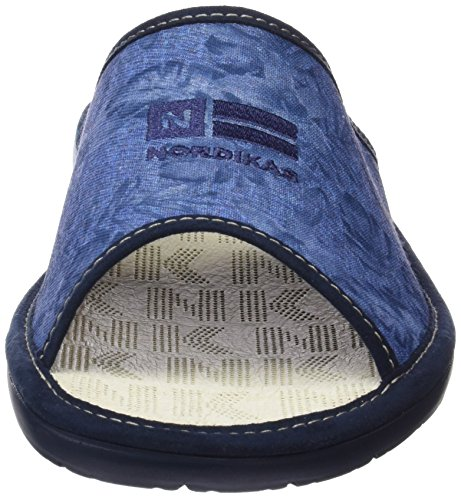 Uomo Nordikas Blu Dbaño Scarpe Cabina Tacco Aperte vFSwOqF
