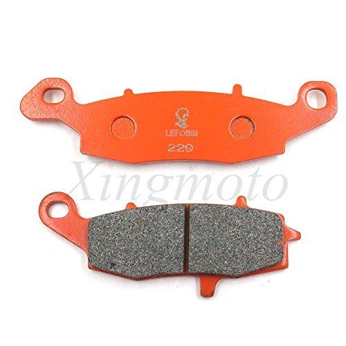 NBX - Pastiglie freno in ceramica al carbonio per DL650 V-Strom 650 DL1000 V-Strom 1000 SV650S -FA229