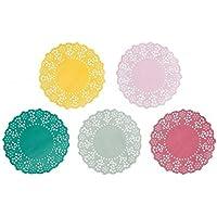 Talking Tables - Mini sottocoppa, modello Floral Fiesta, 100 pezzi