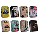 #9: Lifestyle-You Multipurpose Tin Boxes(Pack of 8)