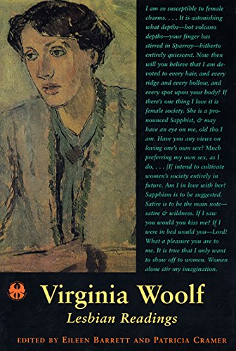 Virginia Woolf: Lesbian Readings (The Cutting Edge: Lesbian Life and Literature Series)