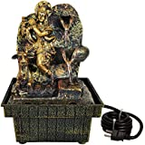 TIED RIBBONS Lord Krishna Table Top Water Fountain For Home Décor