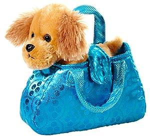 Heunec 501676-Perro en Funda, marrón/Azul