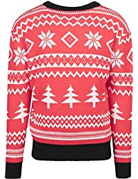 Urban Classics Holidays Christmas Crewneck, Pull Homme