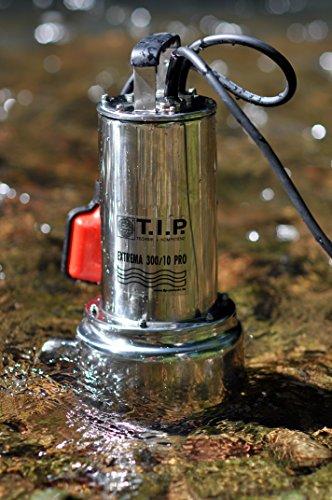 TIP-30072-Schmutzwasser-Tauchpumpe-Edelstahl-Extrema-30010-Pro-mit-Edelstahllaufrad-bis-19500-lh-Frdermenge-Bundle