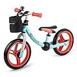 KINDERKRAFT Draisienne enfant 2 Roues Menthe avec Cloche (vélo sans pédale)