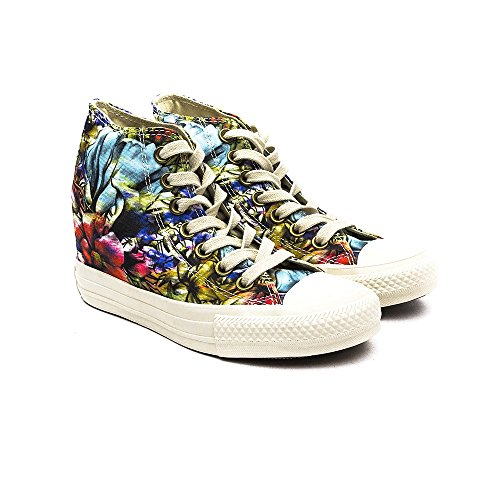 Converse Chuck Taylor All Star Lux Floral Shoes - Egret Egret/Multi