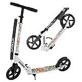 Apollo Big Wheel Scooter 200 mm - Phantom Pro ist EIN Luxus City Scooter, City-Roller klappbar und höhenverstellbar, Kickscooter für Erwachsene und Kinder