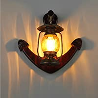 LLYY-Industriale lanterna all'aperto lampada retrò parete lampada da parete Edison