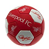 Liverpool FC Official Football Gift Nuskin Football (Size 3) - A Great Christmas / Birthday Gift Idea For Men And Boys