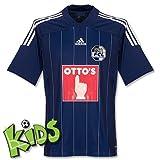 Adidas Fußball Club Luzern Heim Kinder Trikot blau