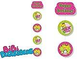 Deckendeko * BIBI BLOCKSBERG * für Kinderparty und Kindergeburtstag von DH-Konzept // Hexen Decken Deko Party Set