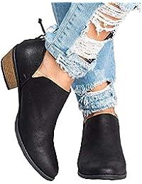 d70faa3c6 Amazon.es  JOYTO - Botas   Zapatos para mujer  Zapatos y complementos