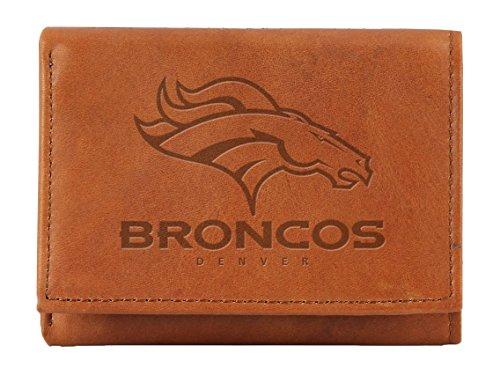 Unbekannt NFL Denver Broncos geprägt Genuine Leder Trifold Wallet