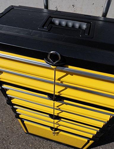 Metall Werkzeugtrolley Werkzeugkasten Werkstattwagen XXL Type: 305/3B1D von AS-S - 3