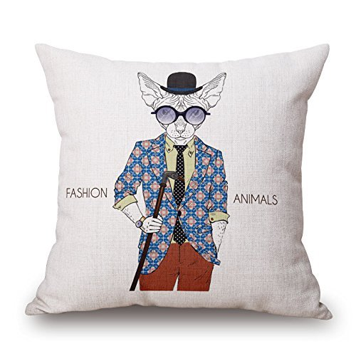 beautifulseason Dog Pillow Cases,Best for Couch,Bar,Chair,Husband,Boy Friend,Home Office 20 X 20 Inches/50 by 50 cm(Twice Sides)