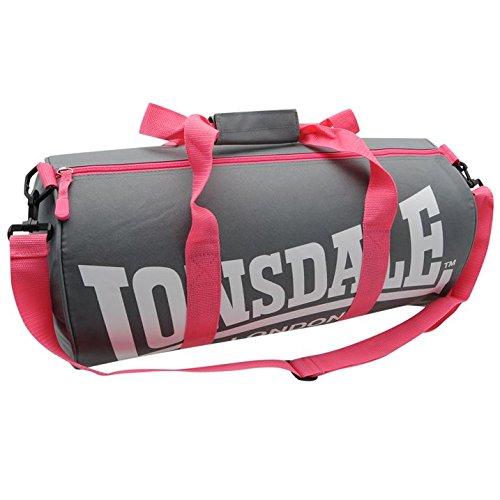 Lonsdale-Bolsa de deporte para hombre (correa para hombro,