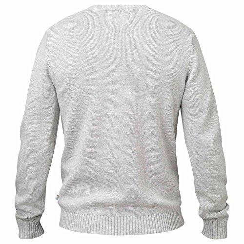 Fjällräven Herren Övik Knit Crew Pullover & Sweatshirts, Hellgrau, Einheitsgröße Sand (220)