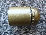 Fassung E27, gold mit Glattmantel, Gewinde M10 (Metall) mit Feststellschraube