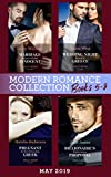 Modern Romance May 2019: Books 5-8: Marriage Bargain with His Innocent / Wedding Night Reunion in Greece / Pregnant by the Commanding Greek / Billionaire's Mediterranean Proposal (English Edition)