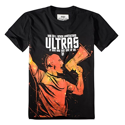 PG Wear You will never Understand T-Shirt Black