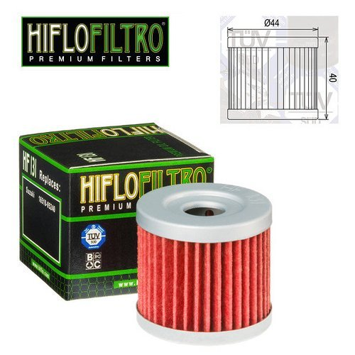 FILTRO OLIO MOTORE HIFLO HF131 PER SUZUKI DR 125 SM 2009