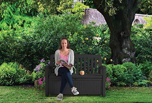 Koll Living Gartenbank/Aufbewahrungsbox/Auflagenbox - 4
