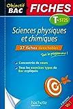 Objectif Bac Fiches Detachables Sciences Physique Et Chimiques St2S