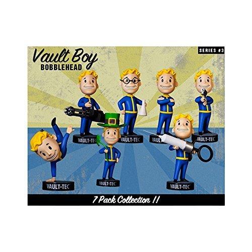 Preisvergleich Produktbild Fallout 3 Vault Boy 101 Bobblehead Figure Complete Series 3 Set by Gaming Heads