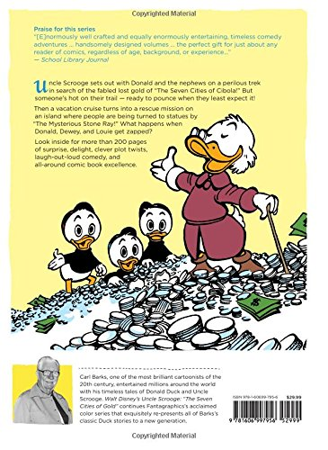 Walt Disney Uncle Scrooge HC 02 Seven Cities Gold (Walt Disney's Uncle Scrooge)