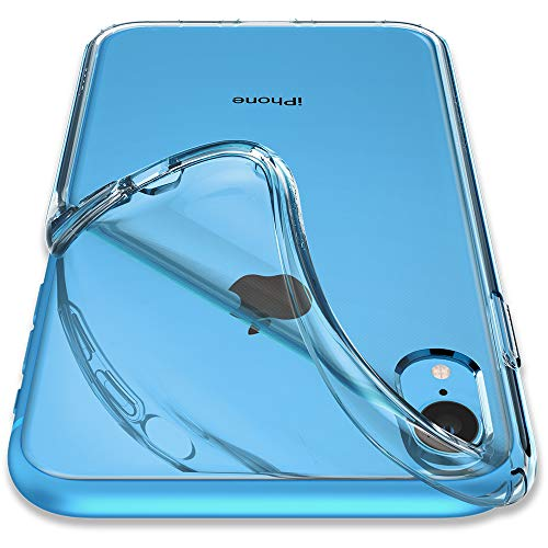 Spigen Liquid Crystal Kompatibel mit iPhone XR Hülle, 064CS24866 Transparent TPU Silikon Handyhülle Durchsichtige Schutzhülle Case (Crystal Clear) - Dicke Insgesamt