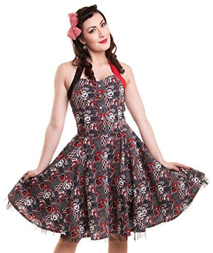 DC Comics Kleid HARLEY QUINN HAHA DRESS Schwarz M