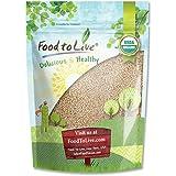 Food to Live Quinoa Blanc Organique Royal (Grains Crus, Entiers, Non Génétiquement Modifiés, En Vrac) (8 Onces)