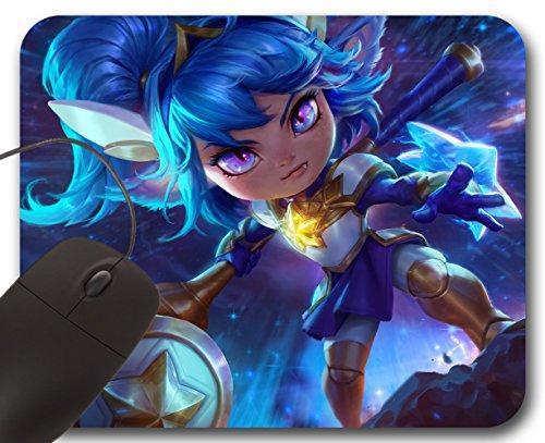 Poppy Star Guardian Skin Mousepad LOL - League of Legends Alfombrilla de Ratón