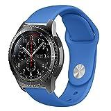 BarRan Samsung Galaxy Watch 46mm Cinturino, 22MM Quick Release Accessori per Samsung Gear S3 Frontier/Classic /Gear 2 /Neo/Live / Moto 360 2nd 46mm/Pebble Time/LG G Watch W100/W110