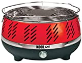 Kool Grill Outdoor Portable BBQ Grill System - Red