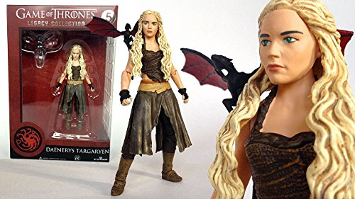 Funko 3907 Game of Thrones Toy - Daenerys Targaryen Deluxe Collectable Action Figure 5