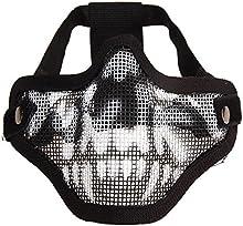 Mascarilla Protectora - TOOGOO(R) Airsoft Mascara Mascarilla Protectora de Malla para /Deportista /Motorista/ Esquiador