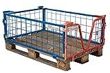 Sommer International GmbH 18er Set Gitter-Aufsatzrahmen 120x80x40 (für Paletten)