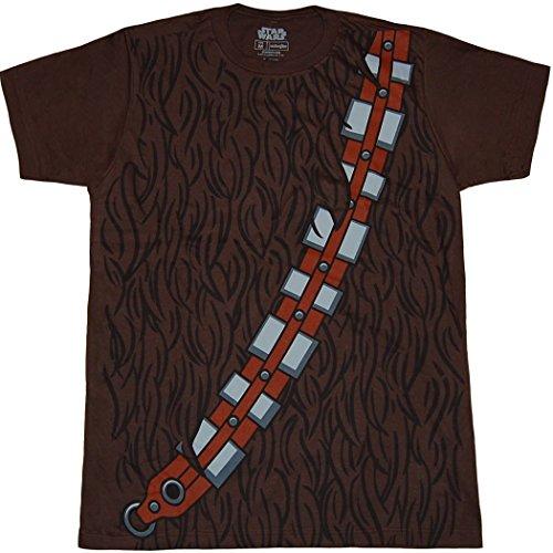 Star Wars I Am Chewbaca Herren Braun Kostüm T-Shirt | (Kostüme Chewbaca)