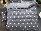 PENVEAT 1 STÜCKE Bettbezug 220 * 240 Bettwäsche Quilt Decke Tröster Abdeckung Druck Einzel Doppel Königin König Maßgeschneiderte 140 * 200 cm Nordic, Farbe 17,155x215 cm
