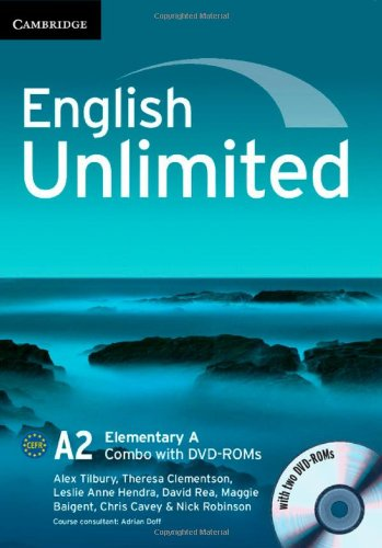 English Unlimited Elementary A Combo with DVD-ROMs (2) por Alex Tilbury